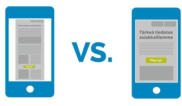 Mobiilikäytettävyys ja hakukoneoptimointi
